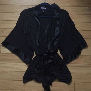 Victoria's Secret Sexy Little Things black robe